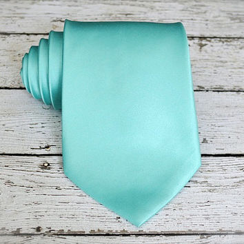 Mint Green Tie. Mint Green Silk Tie. Handemade Tie. Silk Tie. Mens Tie. Mint Green Wedding Tie. Mint Green Wedding. Groomsmen Mint Tie