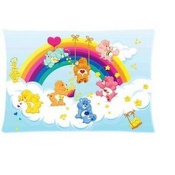 DEYOU New Cartoon Care Bears Anime Kids Pillowcase Pillow Case Cover Two Sides Printing Size 20x30 inch - Walmart.com