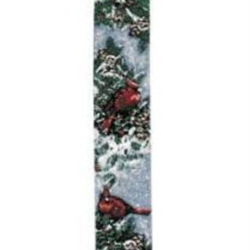 Christmas Bell Pull - Red Cardinal Decorative