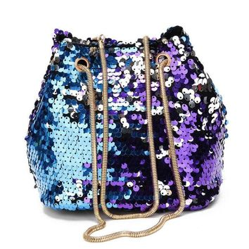 Mermaid Sequin Evening Bag