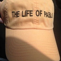 The life of Pablo Kanye West Hat