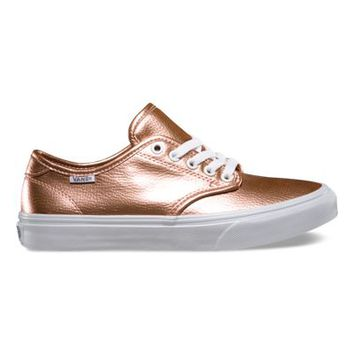 Vans Camden (Glitter Leather rose)