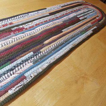 Stair Runners: Jeweled Pattern Multicolor -You Choose Size, Color, Custom Handmade Stair Treads, Carpet Runners