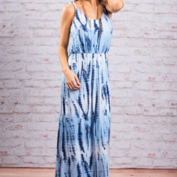 Can't Stop This Feeling Maxi Dress, Serenity