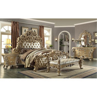 4 Piece Traditional HD-7012 Bedroom Set