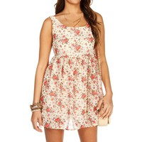 Sale-floral Babydoll Dress