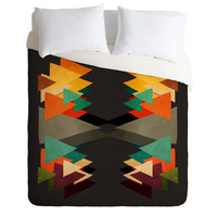 Viviana Gonzalez Textures Abstract 16 Duvet Cover