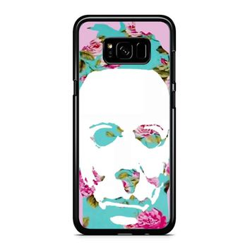Floral Michael Myers Pop Art Samsung Galaxy S8 Case