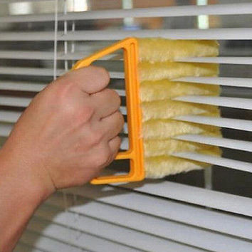 Creative Microfibre Venetian Blind Blade kitchen accessories Cleaner Window Clean Brush diagnostic-tool magnetic window cleaner