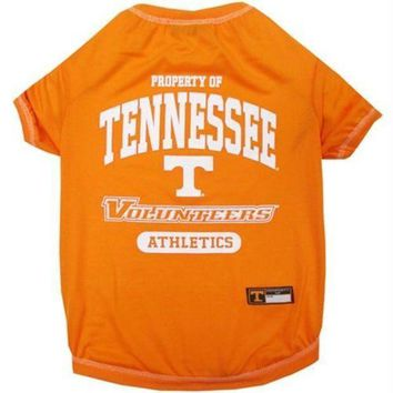 PEAPYW9 Tennessee Vols Pet Tee Shirt