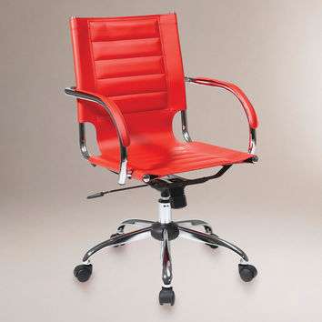 Red Grant Office Chair - World Market