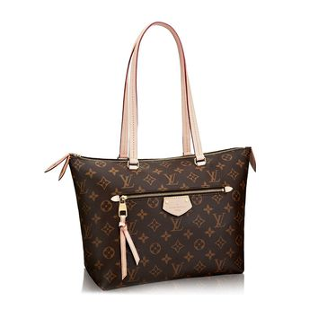 Louis Vuitton Monogram Canvas Shoulder Handbag Iena PM M42268 Made in France