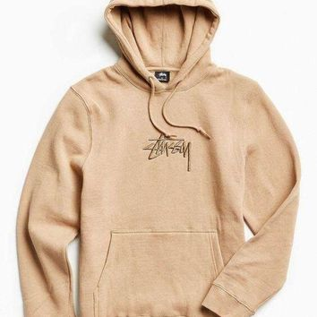 DCCKJN6 One-nice? Stussy Casual Hoodie Drawstring Top Sweater Sweatshirt