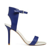 ALDO Blue Ankle Strap Heeled Sandals - Bluette
