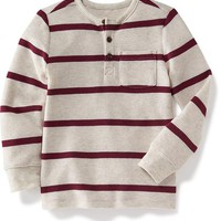 Waffle-Knit Henley for Toddler | Old Navy