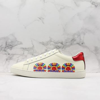 Gucci Ace Embroidered Sneaker Style 456234 - Best Online Sale