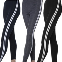 Yoga Gym Sports Trousers Women Tights Stretched Pants Leggings Cotton Sweat pant = 1932032708