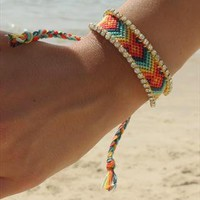 Swarovski Friendship Bracelet - one of a kind from colordrop