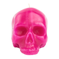 I liked this design on #Fab. Skull Candle Pink