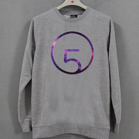 Fifth Harmony logo Sweatshirt Long sleeved Color Grey