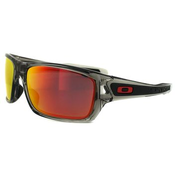Oakley Sunglasses Turbine OO9263-10 Grey Ink Ruby Iridium Polarized