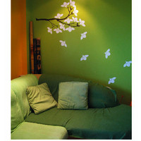 wall sticker wall decal FLORAL-LEAVES