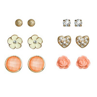 6 On Earring Set | Shop Junior Clothing at Wet Seal