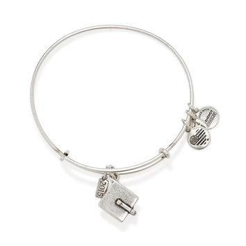 2015 Graduation Cap Charm Bangle