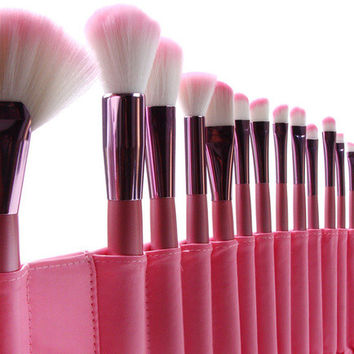 Pink Makeup Brush Sets