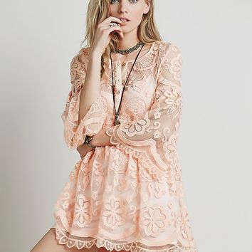 Free People El Sol Mini Dress