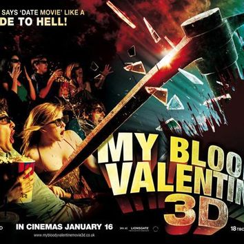 My Bloody Valentine 3-D (UK) 30x40 Movie Poster (2009)
