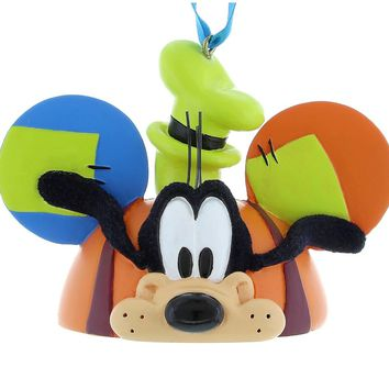 944ee29609f disney parks goofy resin christmas ear hat ornament new with tag
