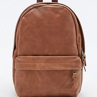 Eastpak Frick Leather Backpack in Tan - Urban Outfitters