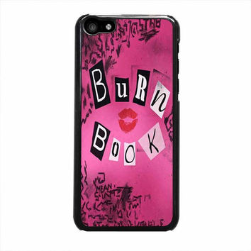 burn book mean girls iphone 5c 5 5s 4 4s 5c 6 6s plus cases