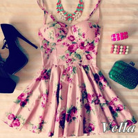 Vella bustier dress