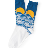Aeropostale  Sun & Waves Crew Socks