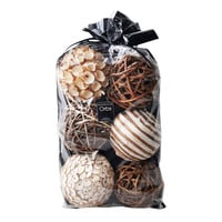 Natural & Wood Orbs in a Bag