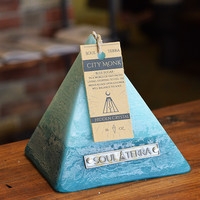 Good Karma Pyramid Crystal Candle from Apollo Box