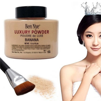 Ben Nye Banana Powder 1.5 oz Bottle Luxury Face Makeup 42g  [8833990924]