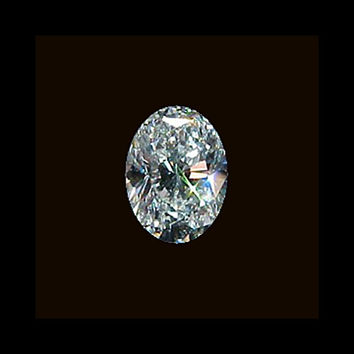 G SI1 Diamond 1.01 carat loose diamond oval cut