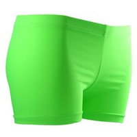 GemGear Neon Lime Volleyball Spandex Shorts