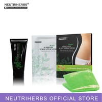 Neutriherbs Body Applicator Skin Tightening, Firming Cream It Works to Stretch Marks Removal Weight Loss 5 Wraps + 1 Free Gel
