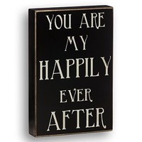Happily Ever After Box Sign - Davids Bridal