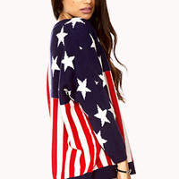 Americana Dolman Sweater | FOREVER 21 - 2079346146