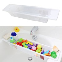 Adjustable Kids Toy Storage Organizer Basket Retractable Storage Holder