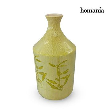 Vase Stoneware (15 x 15 x 30 cm) - Pure Crystal Deco Collection by Homania