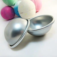 1 Metal Bath Bomb Fizzies Mold 1.96 inches / 50mm