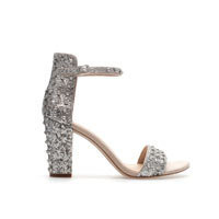 HIGH HEEL SANDAL WITH ANKLE STRAP - Shoes - Woman - ZARA United States