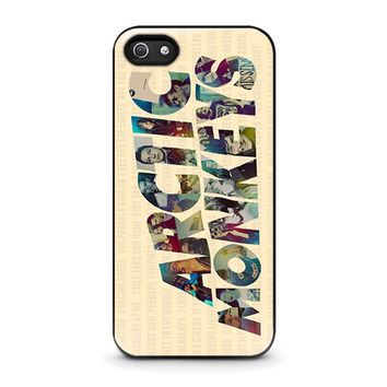 ARCTIC MONKEYS CHARACTERS iPhone 5 / 5S / SE Case Cover