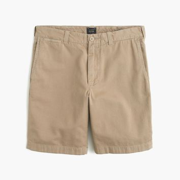 """9"""" short in garment-dyed cotton"""